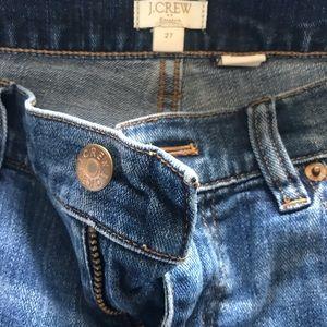 JCrew boyfriend jeans